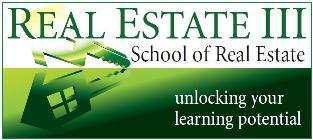 Welcome to the Real Estate III School of Real Estate